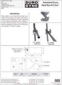 Duro Dyne Dual Dyn-O-Claw Submittal.pdf