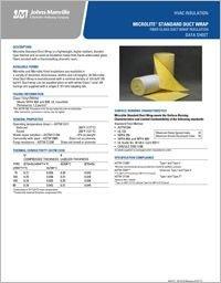 JM HVAC MicroLite Standard Duct Wrap Data Sheet.pdf