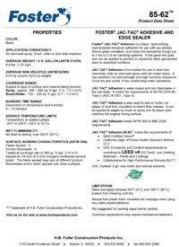 Foster 85-62 Jac-Tac Adhesive and Edge Sealer.pdf