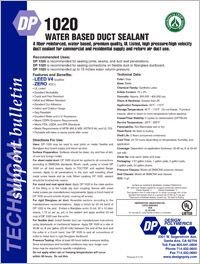 Design Polymerics DP1020 Water Based Duct Sealant.pdf