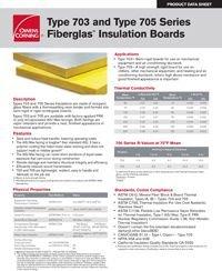 OC Type 703 and Type 705 Fiberglas Insulation Boards.pdf