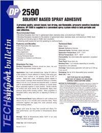 Design Polymerics DP2590 Solvent Based Spray Adhesive.pdf
