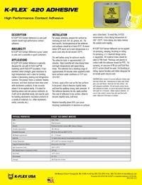 K-Flex 420 Contact Adhesive.pdf