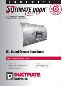 Ductmate Ultimate Round Door UL Rated Grease Duct Doors.pdf