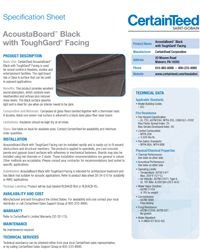 CT AcoustaBoard Black with ToughGard Facing.pdf