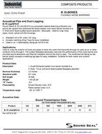 Sound Seal B-10 Lag QFA-9 Industrial Flexible Noise Barriers.pdf