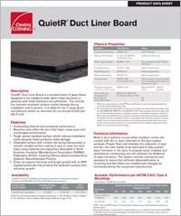 OC QuietR Duct Liner Board Data Sheet.pdf