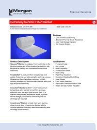 Morgan Refractory Ceramic Fiber Blanket Thermal Ceramics.pdf