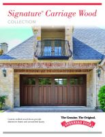 Signature Carriage Wood Collection