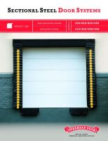 Sectional Steel Door Systems Brochure