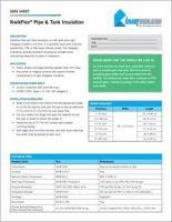 Knauf KwikFlex Pipe and Tank Data Sheet