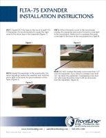Flta 75 Expander Installation Instructions