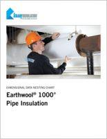 Knauf Earthwool 1000 Pipe Insulation Dimensional Data Nesting Chart