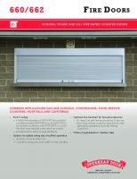 Fire Doors - Counter 660/662