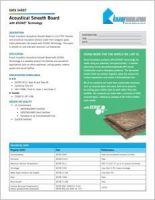 Knauf Acoustical Smooth Board Data Sheet