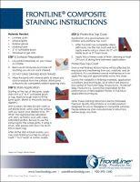 Composite  Frame Finishing Instructions