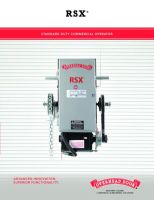 RSX Commercial Operator Brochure