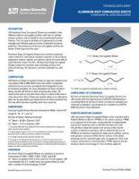 JM Aluminum Deep Corrugated Sheets
