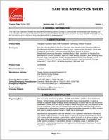 Owens Corning_Safe Use Instruction Sheet