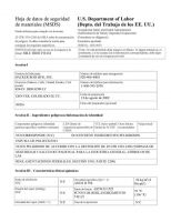 Mile High MSDS - Spanish