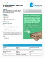 Knauf Elevated Temp Board Data Sheet